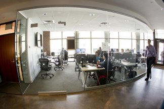 The Bloomberg Lab at Brandeis