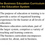 Teaching Business Education