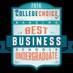 Top undergraduate Business schools 2015